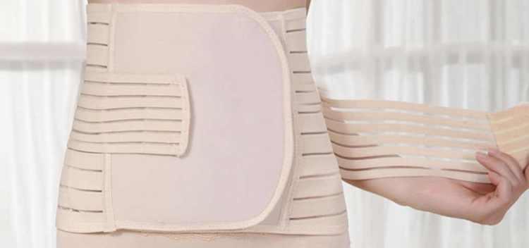 Бандаж после родов - 120 фото вариантов как, какой и как долго следует носить бандаж