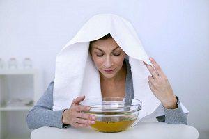 Ингаляции при насморке у беременных