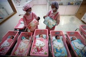 Роды в Китае сервис